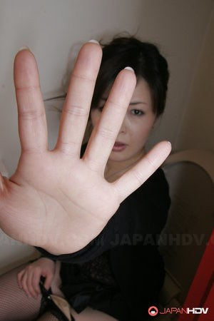 Japanese milf nude solo
